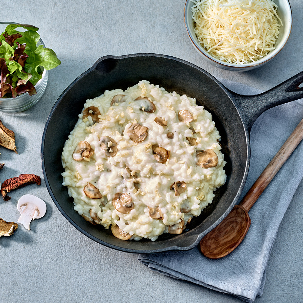 Risotto veggie Nurishh® aux champignons