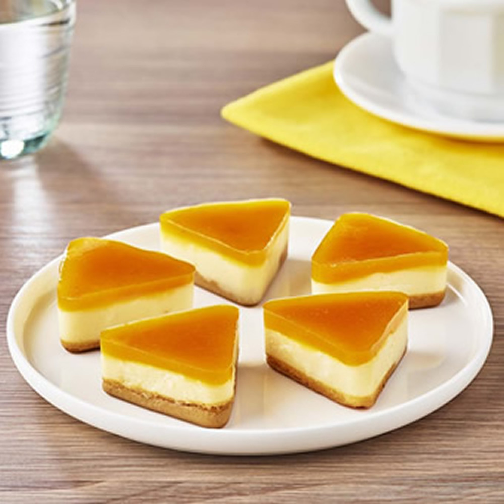 Cheesecake exotique Manger Mains