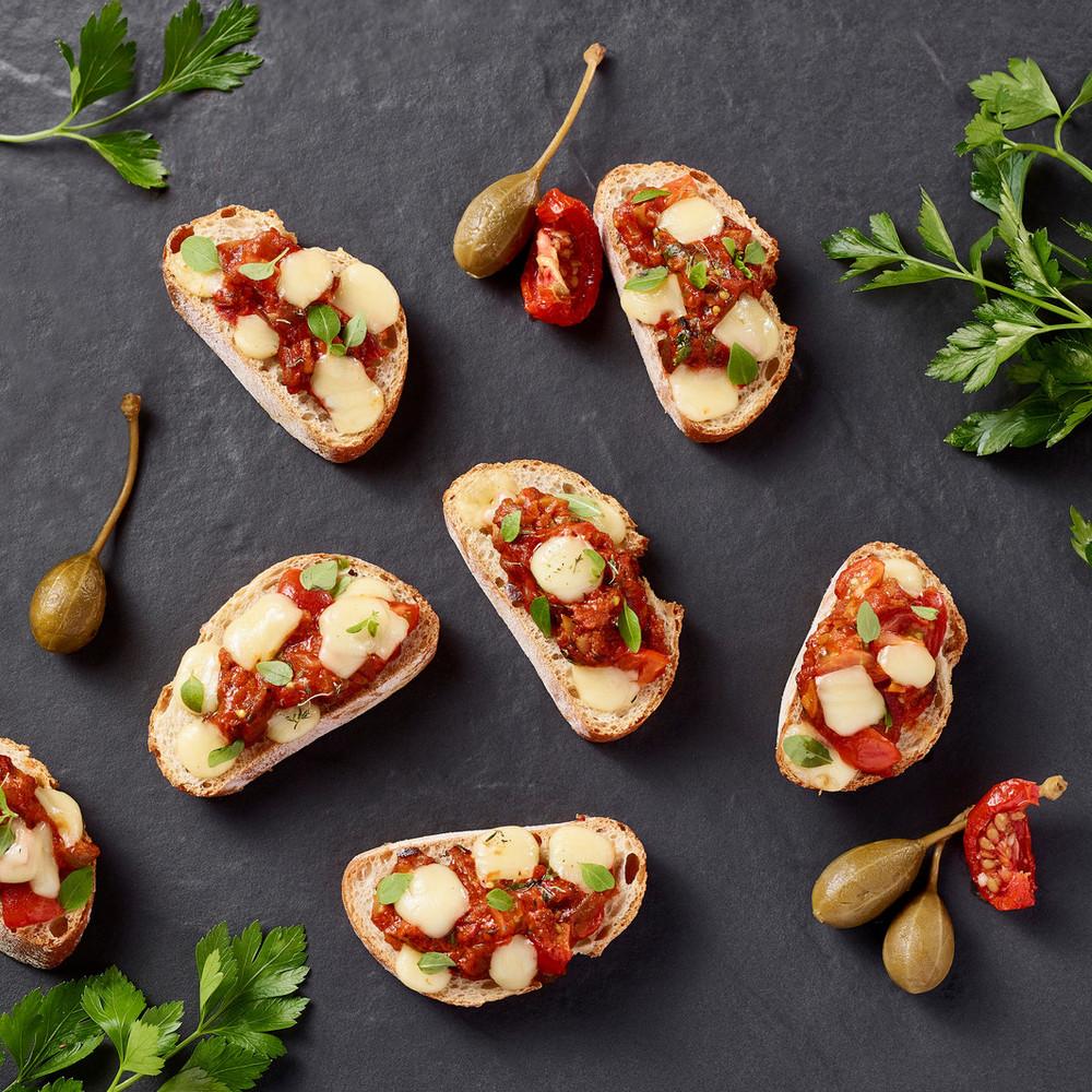 Bruschettas tomates