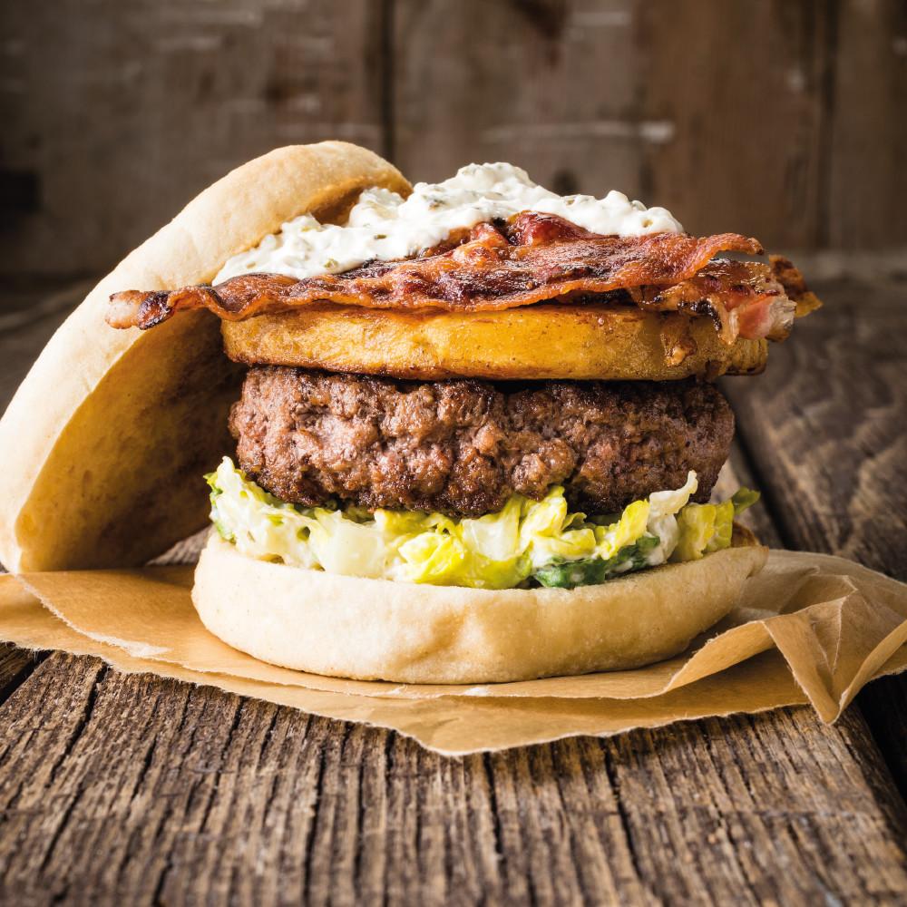 De Breakfast Burger