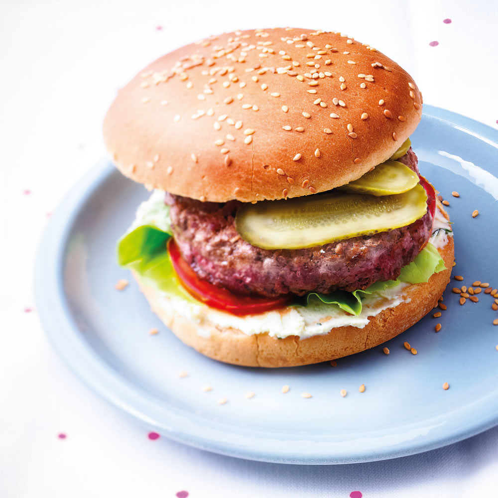 Boursin Burger