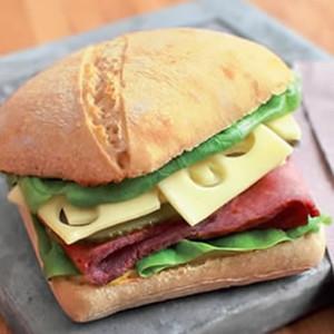 Burger brasserie au boeuf