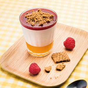Fraîcheur framboise passion speculoos