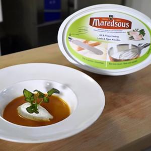 Crème aux herbes pour potages