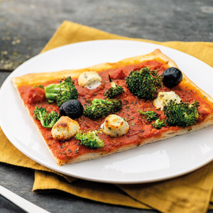 Pizza aux brocolis