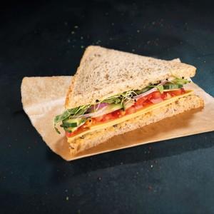 Club sandwich thon végétal