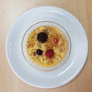 Crème brûlée met speculaas, volle textuur